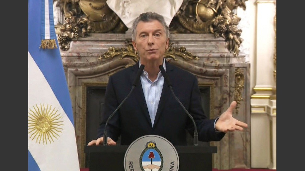 "Macri dijo que las condiciones internacionales ya no son ""favorables"" para financiar el gradualismo"